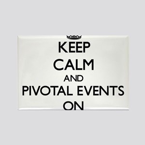 Keep Calm and Pivotal Events ON Magnets