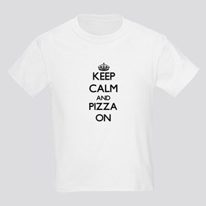 Keep Calm and Pizza ON T-Shirt