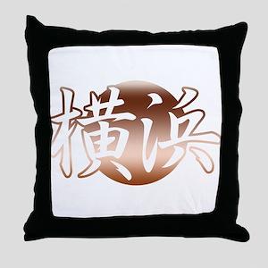 Bronze Yokohama Throw Pillow