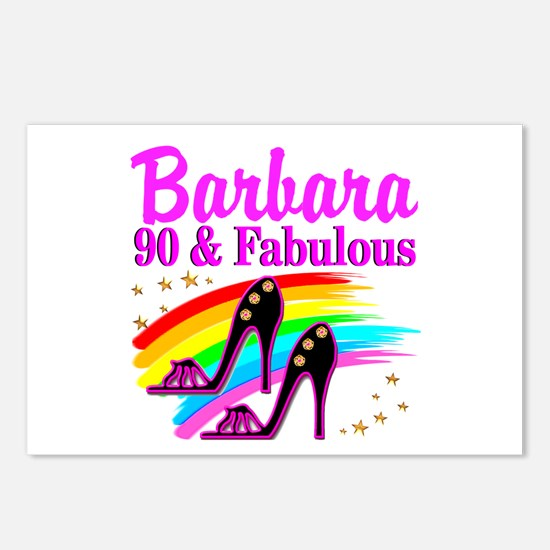 90 AND FABULOUS Postcards (Package of 8)