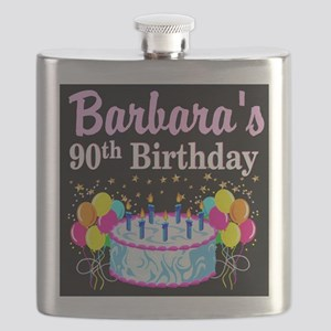 90TH CELEBRATION Flask