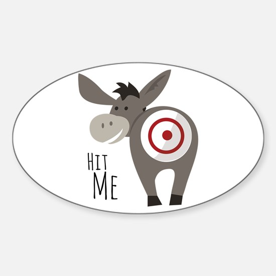 Hit Me Decal