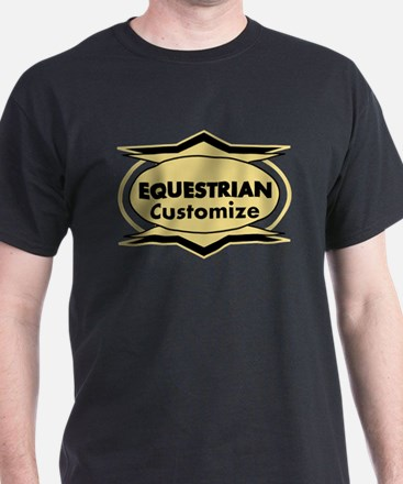 Equestrian Star stylized T-Shirt