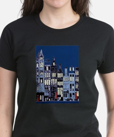 Amsterdam at Nigh T-Shirt