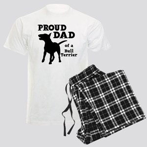 BULL TERRIER DAD Men's Light Pajamas