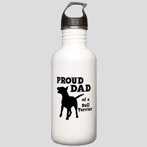 BULL TERRIER DAD Stainless Water Bottle 1.0L
