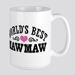 World's Best MawMaw Large Mug