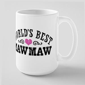 World's Best MawMaw Large Mug