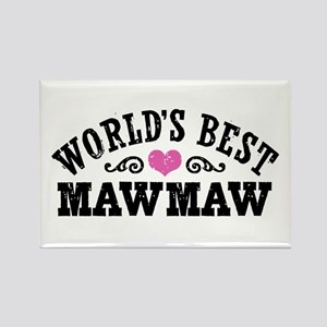 World's Best MawMaw Rectangle Magnet