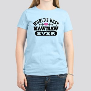 World's Best MawMaw Ever Women's Light T-Shirt