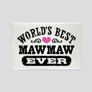 World's Best MawMaw Ever Rectangle Magnet