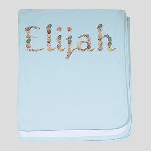 Elijah Seashells baby blanket