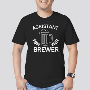Assistant Brewer Men's Fitted T-Shirt (dark)