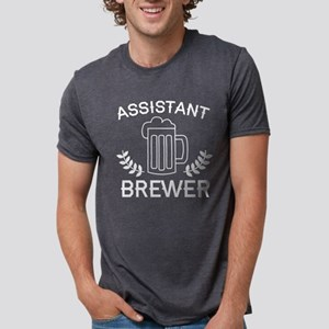 Assistant Brewer Mens Tri-blend T-Shirt