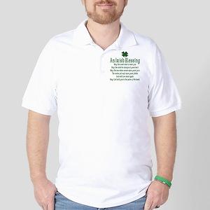 Irish Blessing Golf Shirt