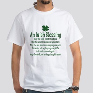 Irish Blessing White T-Shirt