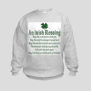 Irish Blessing Kids Sweatshirt