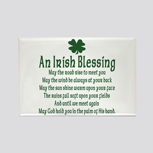 Irish Blessing Rectangle Magnet