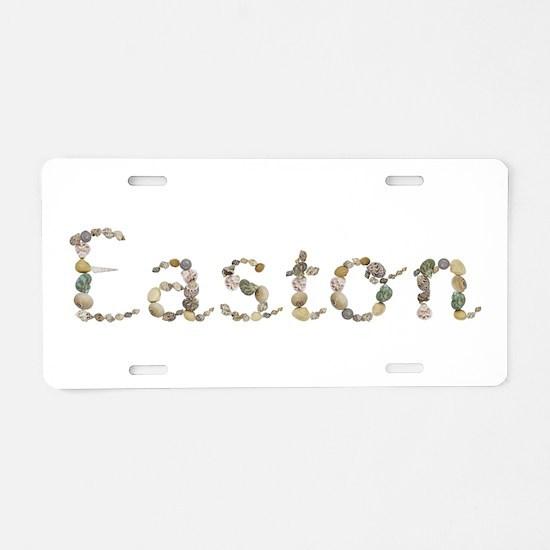 Easton Seashells Aluminum License Plate