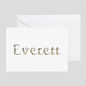 Everett Seashells Greeting Card