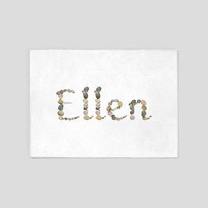Ellen Seashells 5'x7' Area Rug