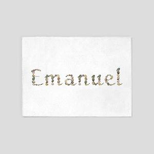 Emanuel Seashells 5'x7' Area Rug
