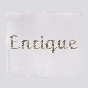 Enrique Seashells Throw Blanket
