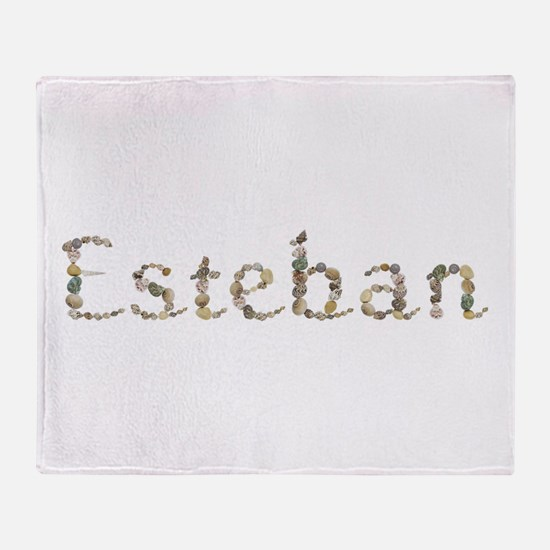 Esteban Seashells Throw Blanket