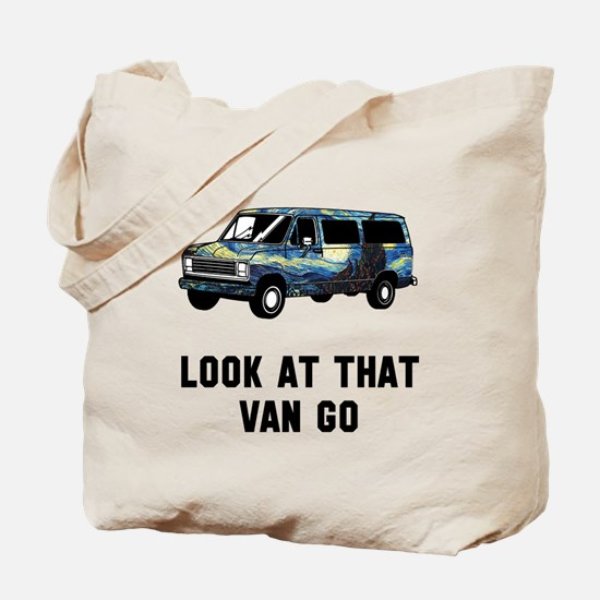 Look at that van go Tote Bag