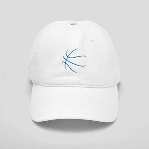 Basketball Ball Lines Blue Cap