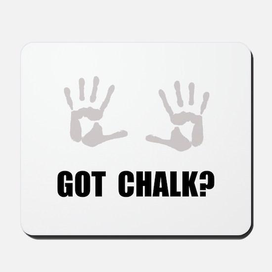 Got Chalk Mousepad