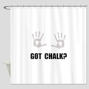 Got Chalk Shower Curtain