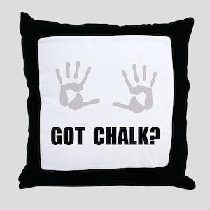 Got Chalk Throw Pillow