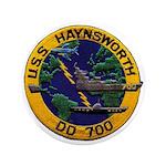 USS HAYNSWORTH Button