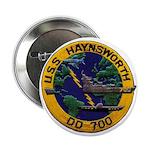 """USS HAYNSWORTH 2.25"""" Button"""