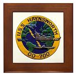 USS HAYNSWORTH Framed Tile