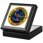 USS HAYNSWORTH Keepsake Box