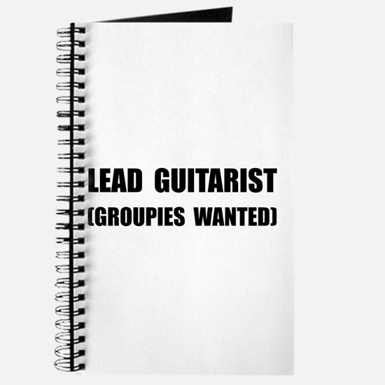 Lead Guitarist Groupies Journal