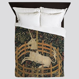 Unicorn Captured Queen Duvet
