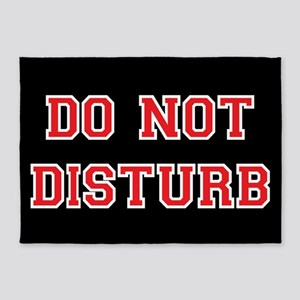 Do Not Disturb 5'x7'area Rug