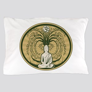 Buddha and the Bodhi Tree Pillow Case