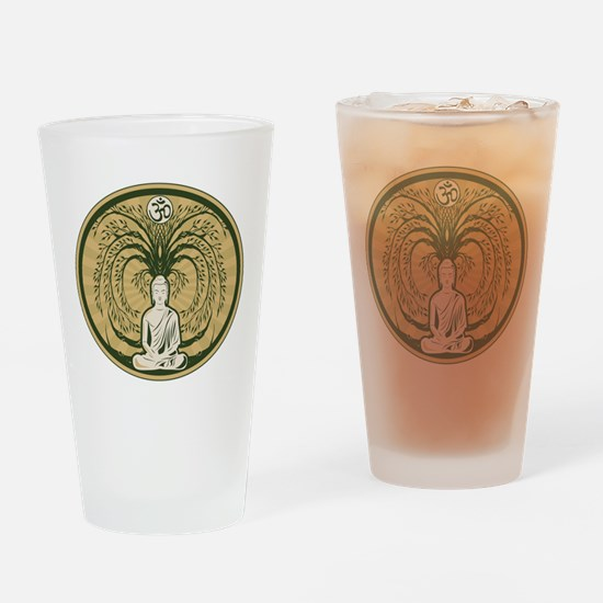 Buddha and the Bodhi Tree Drinking Glass