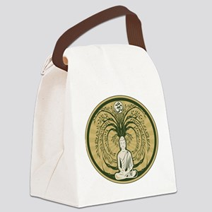 Buddha and the Bodhi Tree Canvas Lunch Bag