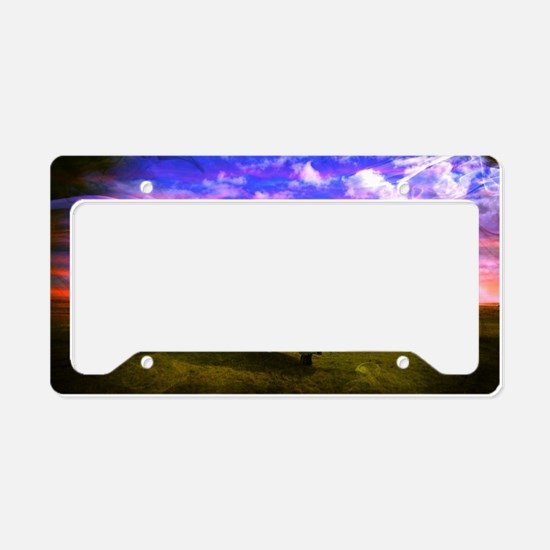 Helicopter. License Plate Holder