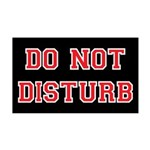 Do Not Disturb Wall Decal