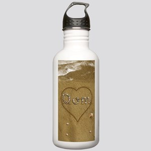Dom Beach Love Stainless Water Bottle 1.0L