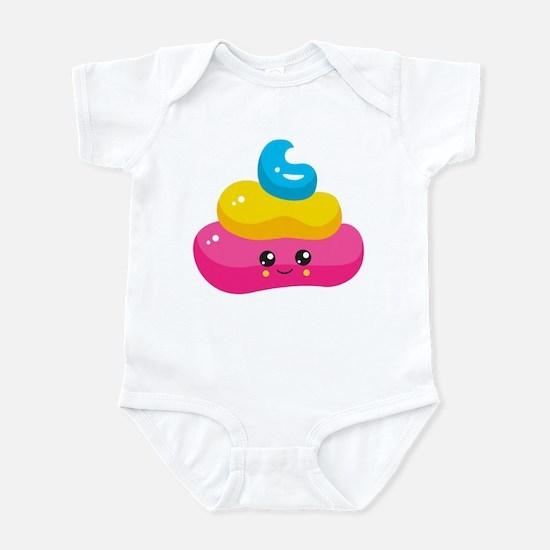 Unicorn Poop Baby Light Bodysuit