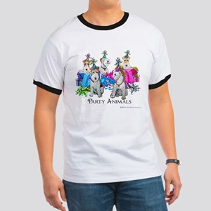 Fox Terrier Party Animals Ringer T