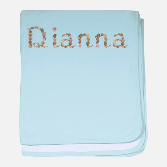 Dianna Seashells baby blanket