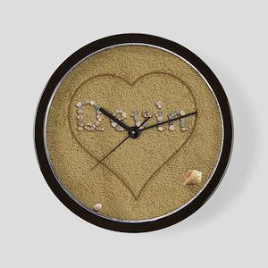 Devin Beach Love Wall Clock
